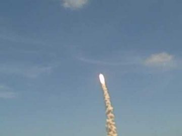 Shuttle Atlantis STS-132 Launch Raw Video 5-14-10